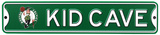 Boston Celtics Steel Kid Cave Sign Wall Sign