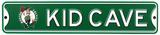 Boston Celtics Steel Kid Cave Sign Wall Sign