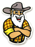 Appalachian State Mountaineers Youth Yosef Steel Magnet Magnet