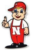 Nebraska Huskers Lil' Red Steel Magnet Magnet