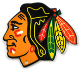 Chicago Blackhawks Steel Magnet Magnet