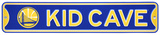 Golden State Warriors Steel Kid Cave Sign Wall Sign