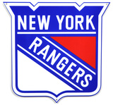 New York Rangers Lasercut Steel Logo Sign Wall Sign