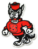 Nc State Wolfpack Strutting Wolf Steel Magnet Magnet