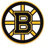 Boston Bruins Lasercut Steel Logo Sign Wall Sign