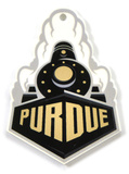 Purdue Boilermakers Train Steel Magnet Magnet