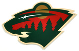 Minnesota Wild Lasercut Steel Logo Sign Wall Sign