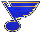 St. Louis Blues Lasercut Steel Logo Sign Wall Sign