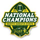 North Dakota State Ndsu 2014 Champions Steel Magnet Magnet