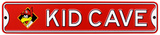 St. Louis Cardinals Fredbird Steel Kid Cave Sign Wall Sign