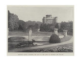 Eglinton Castle, Ayrshire, the Seat of the Earl of Eglinton and Winton Giclee Print