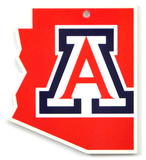 Arizona Wildcats Steel Magnet Magnet