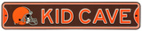 Cleveland Browns Steel Kid Cave Sign Wall Sign