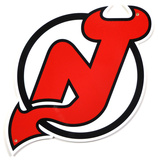 New Jersey Devils Lasercut Steel Logo Sign Wall Sign
