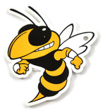 Georgia Tech Yellow Jackets Buzz Steel Magnet Magnet