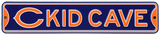 Chicago Bears Steel Kid Cave Sign Wall Sign