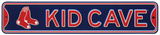 Boston Red Sox Steel Kid Cave Sign Wall Sign