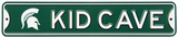 Michigan State Spartans Steel Kid Cave Sign Wall Sign