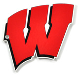 Wisconsin Badgers Steel Magnet Magnet