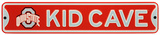 Ohio State Buckeyes Steel Kid Cave Sign Wall Sign