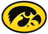 Iowa Hawkeyes Lasercut Steel Logo Sign Wall Sign