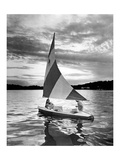 Sail Boat 2 Giclee Print by  Underwood