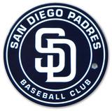 San Diego Padres Circle Logo Steel Magnet Magnet