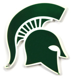 Michigan State Spartans Steel Magnet Magnet