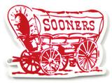 Oklahoma Sooners Schooner Steel Magnet Magnet