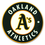 Oakland Athletics Steel Magnet Magnet