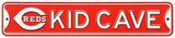 Cincinnati Reds Steel Kid Cave Sign Wall Sign