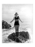Beach Bathing Beauty 3 Giclee Print by  Underwood