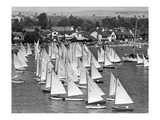 Sail Boat 5 Giclee Print by  Underwood