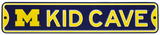 Michigan Wolversines Steel Kid Cave Sign Wall Sign