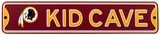 Washington Redskins Steel Kid Cave Sign Wall Sign