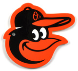 Baltimore Orioles Bird Head Steel Magnet Magnet