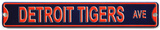 Detroit Tigers Detroit Tigers Ave Steel Magnet Magnet