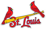St. Louis Carindals Alternate Lasercut Steel Logo Sign Wall Sign