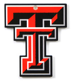 Texas Tech Red Raiders Steel Magnet Magnet