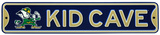 Notre Dame Steel Kid Cave Sign Wall Sign