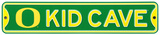 Oregon Ducks Steel Kid Cave Sign Wall Sign