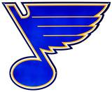 St. Louis Blues Lasercut Steel Logo Sign Wall Sign