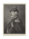 Prince Bismarck, Who Attains His Eightieth Birthday on 1 April Giclee Print