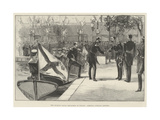 The Russian Naval Squadron at Toulon, Admiral Avellan Landing Giclee Print