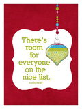 The Nice List Giclee Print by Cheryl Overton