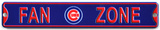 Fan Zone Chicago Cubs Steel Magnet Magnet