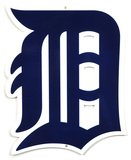 Detroit Tigers Steel Logo Sign Wall Sign
