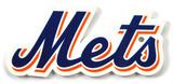 New York Mets Script Steel Magnet Magnet