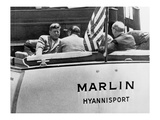 John Kennedy sailing Giclee Print by  Underwood