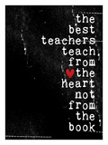 The best teachers Giclee Print by Cheryl Overton
